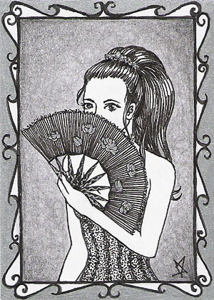 art card 03 - Lady