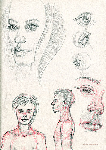 Random disembodied sketches
